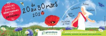 15ème Semaine pour les alternatives aux pesticides